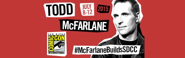 Todd McFarlane to Unveil New Construction Sets at Comic-Con