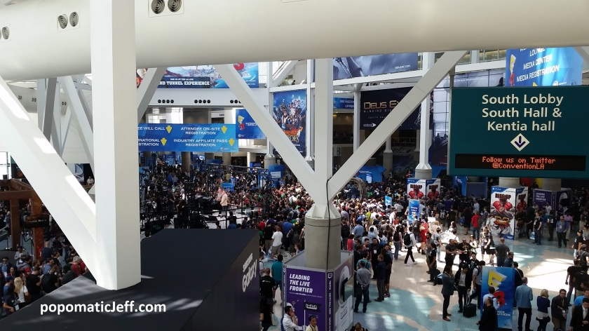 E3 2015 Exhibit Hall About to Open