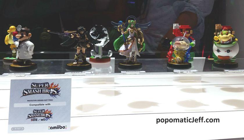 Nintendo amiibos at E3