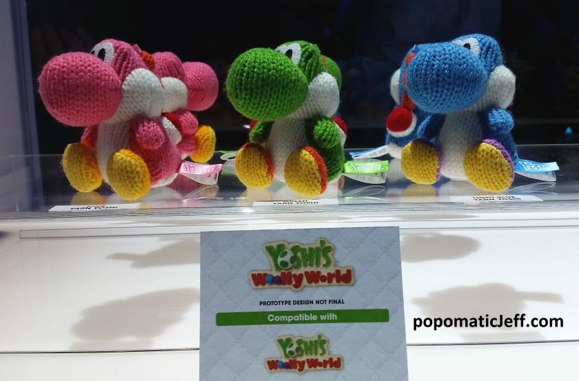 amiibo figures for Yoshi's Woolly World