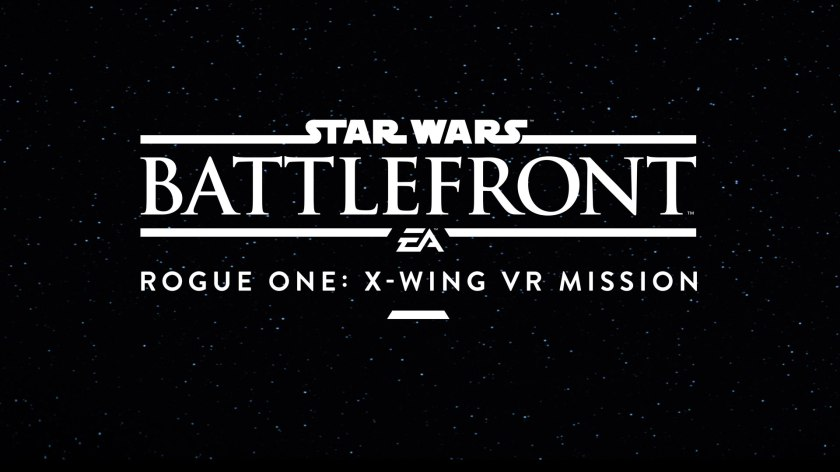 Star Wars Battlefront X-Wing VR